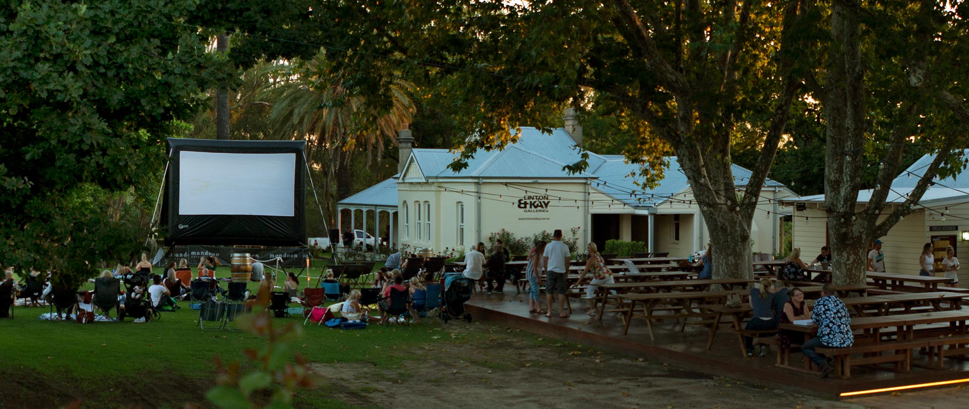 Outdoor Cinema Hire Perth